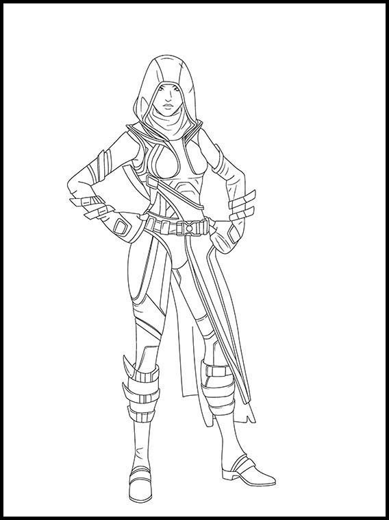 Fortnite 12 Printable Coloring Pages For Kids In 2020 Coloring