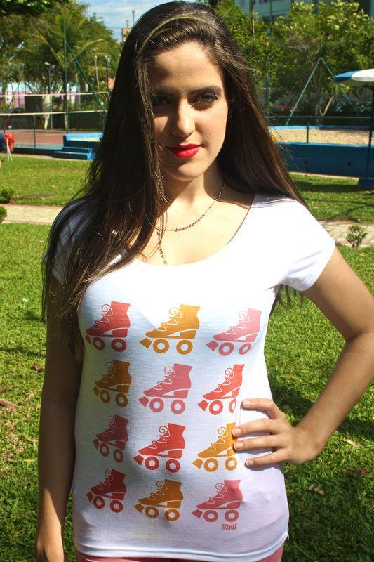 Camiseta | Patinzinhos coloridos R$35,00 Heti Skating t-shirt