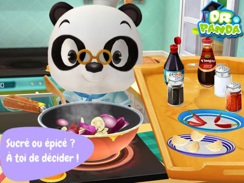 application enfant ipad dr panda restaurant 2