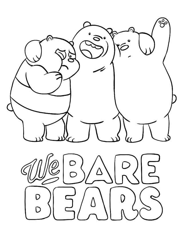 11 Best Free Printable Bear Coloring Pages For Kids Bear Coloring Pages Cartoon Coloring Pages Coloring Books