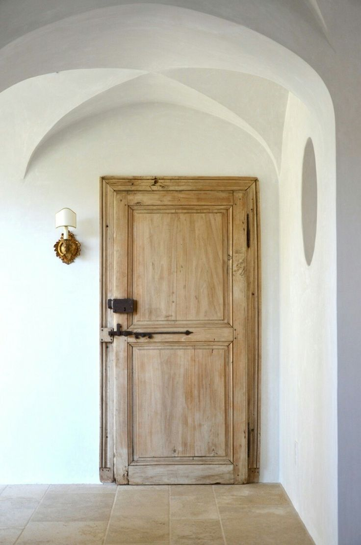 Antique Heavy Wood Doors For Indoor Doors To Make Hallway
