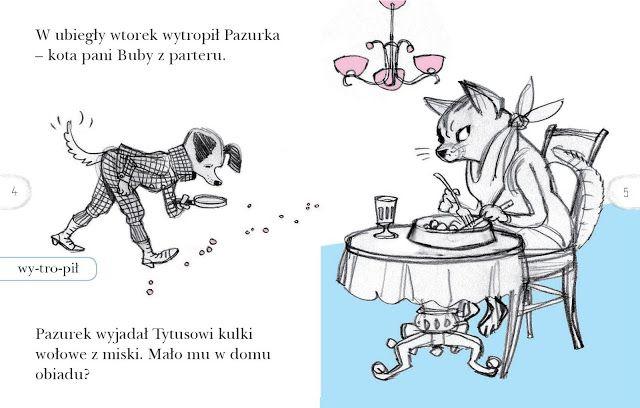 polska ilustracja dla dzieci: Nowość - Tytus - superpies