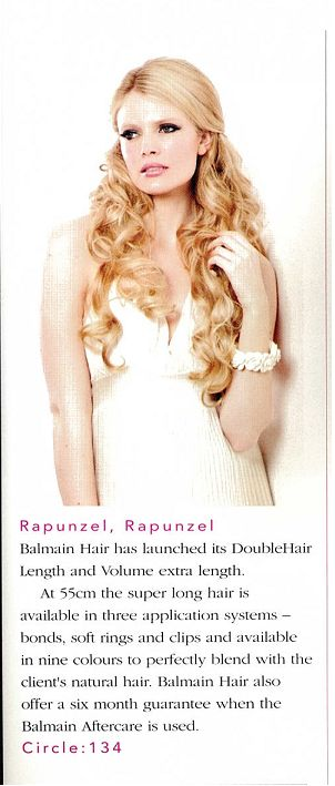 New DoubleHair Length & Volume XL extensions from Balmain Hair!!! Create the glamorous long locks you have always dreamed of!