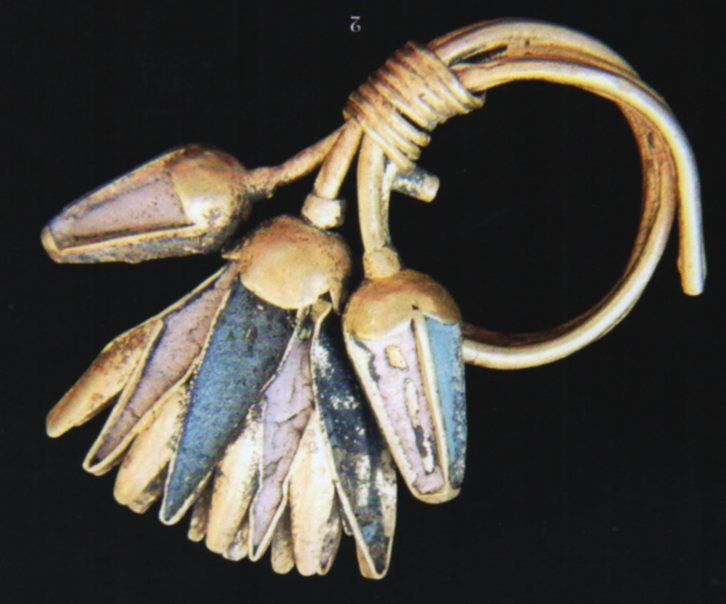 Hittite, gold ornament, (Süel-Süel) (Erdinç Bakla archive)