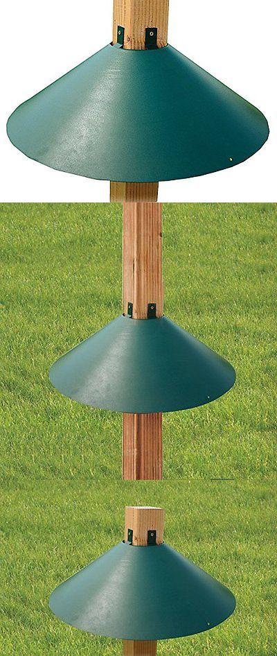 Feeders 46290: Woodlink Post Mount Squirrel Baffle Model Baf3gr BUY IT NOW ONLY: $67.36