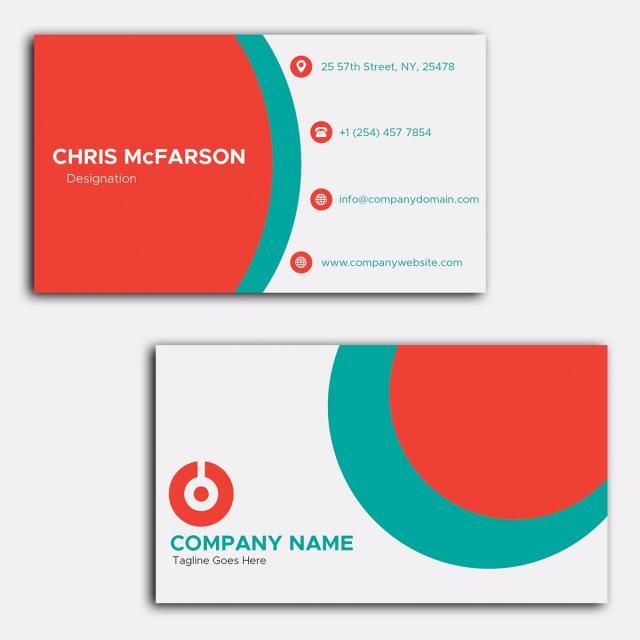 بطاقة عمل Company Names Business Cards Cards