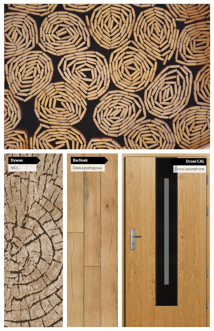 Jasne drewno i czerń. Idealne zestawienie kolorystyczne do nowoczesnych wnętrz z nutką stylu eko.