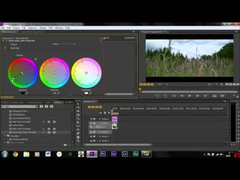how to add a cinematic effect in premiere