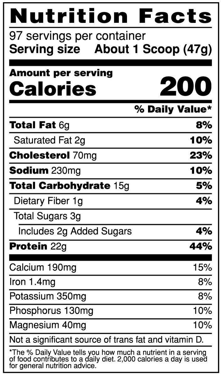 Syntha 6 Nutrition Facts : syntha, nutrition, facts, Syntha, Nutrition, Facts, Label, Ythoreccio