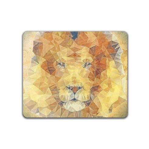 abstract lion Mousemat by ancello at zippi.co.uk