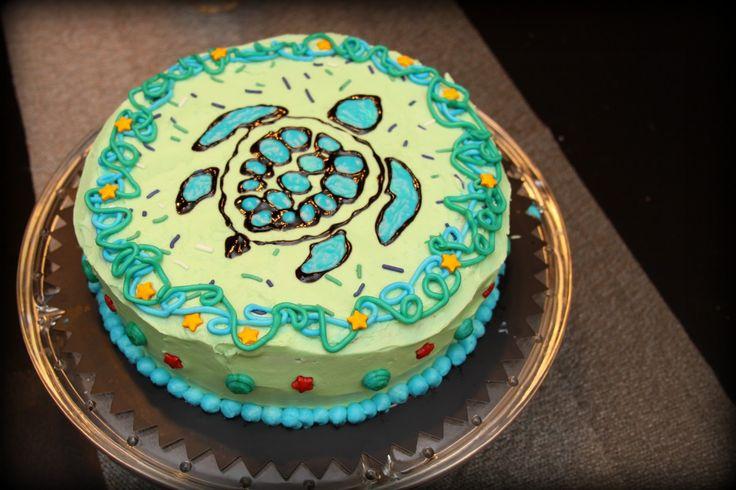 Casa de Luna Creations: Sea Turtle Cake, Tips & Tricks