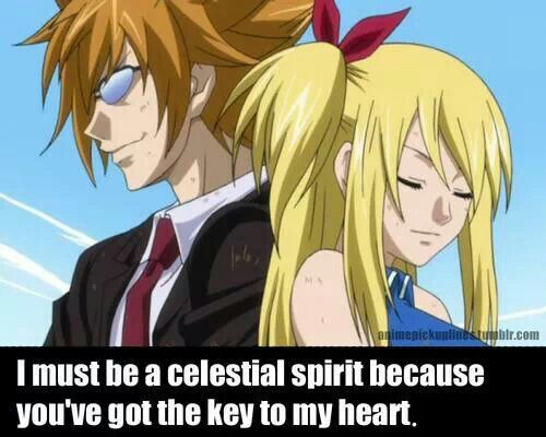 Fairy tail pick up line