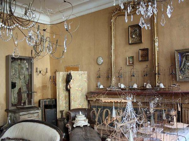 Pascale Palun's studio, Vox Populi, Avignon, France.