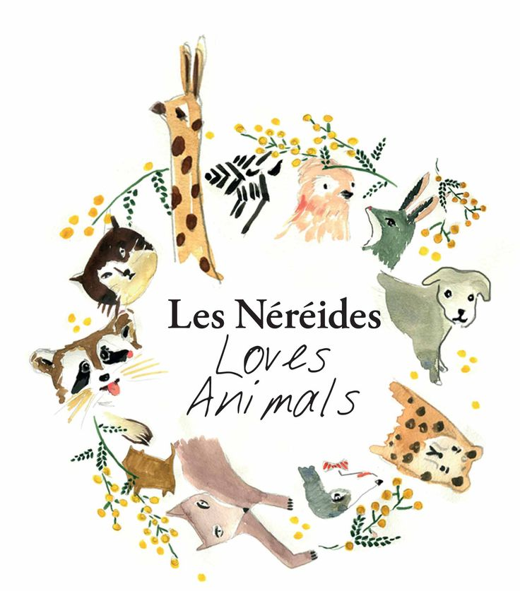 Les Nereides Loves Animals