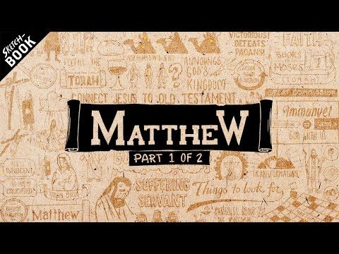 The Book of Matthew explained with animation Want to see more? Our Website: http://www.jointhebibleproject.com Say hello or follow us here: Twitter: http://t...