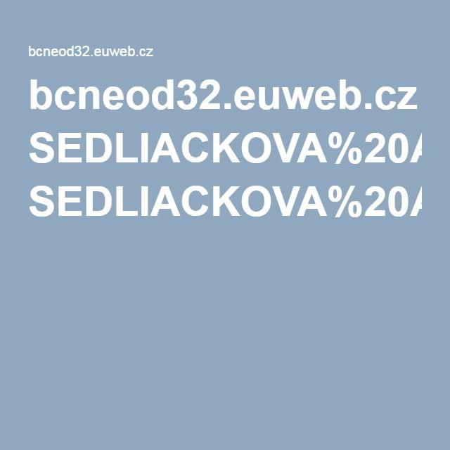 bcneod32.euweb.cz SEDLIACKOVA%20AGATA%20stare%20dobre%20vyskusane SEDLIACKOVA%20A%20stare%20dobre%20vyskusane.pdf