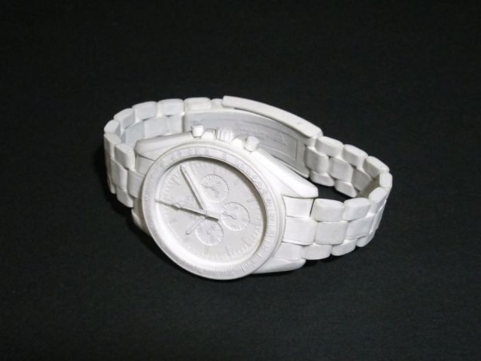 Japanese Artist Makes Incredibly Detailed Paper Watches That Look Like They Were 3d Printed | Bored Panda