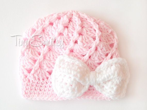 b7ae351cfc6 Bow Newborn Hat