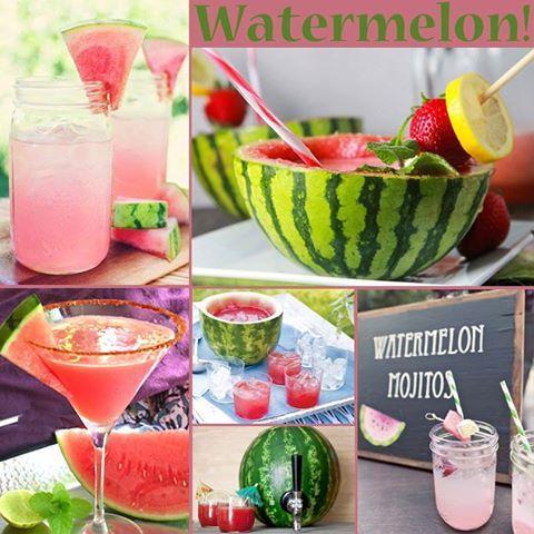"Summer Weddings ""Watermelon Mojitos"""