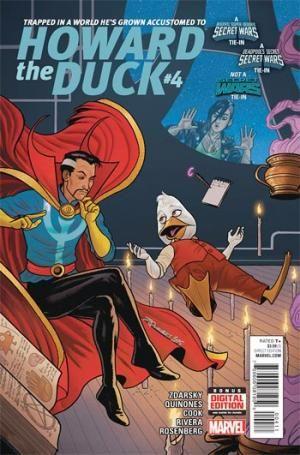 HOWARD THE DUCK #4 - アメコミ通販 アメコミ専門店 ブリスターコミックス : BLISTER comics