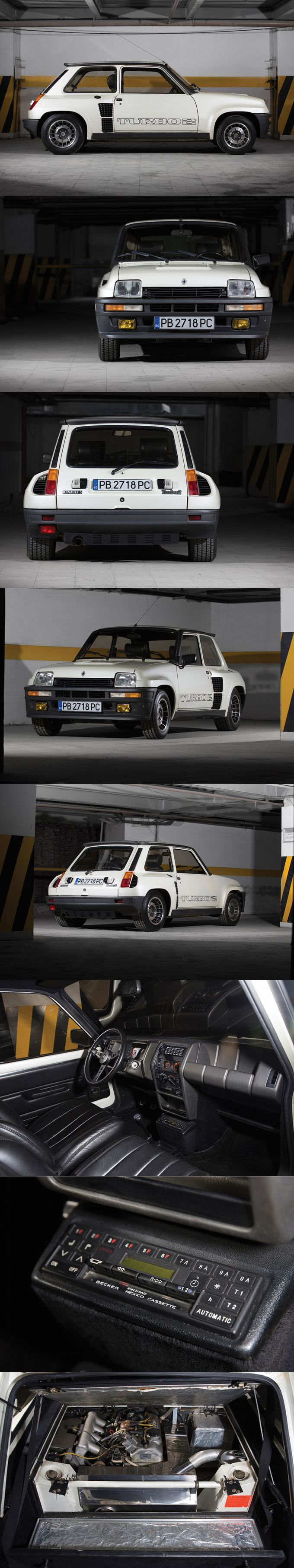 1983 Renault 5 Turbo II / homologation WRC / 158hp / white / France / Marcello Gandini http://amzn.to/2sAXIva