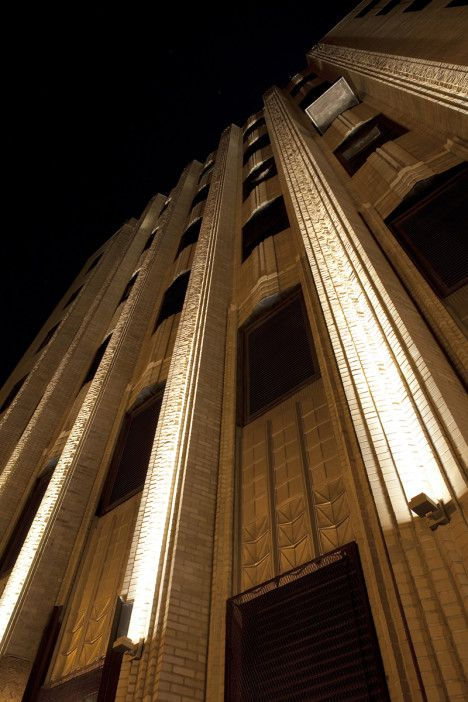 Best 25 facade lighting ideas on pinterest factory - Exterior architectural led lighting ...