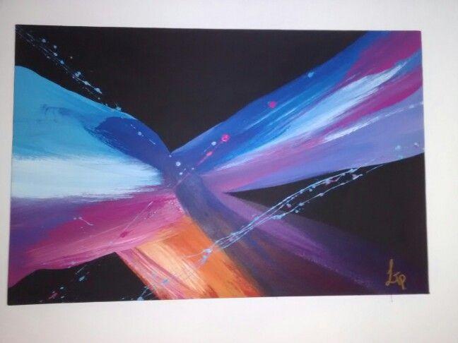 Cuadro moderno,pintura acrílica.