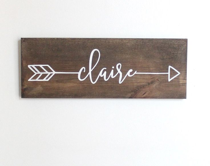 "Arrow Name Sign, Wood Arrow Wall Art, Wood Arrow Decor, Wood Arrows, Woodland Nursery Decor, Rustic Name Sign, 15"" x 5.5"" by HandmadeMercantileCo on Etsy https://www.etsy.com/listing/463228736/arrow-name-sign-wood-arrow-wall-art-wood"