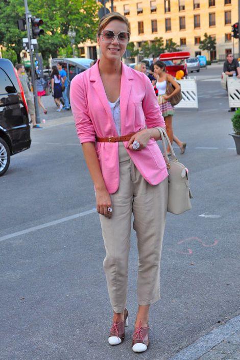 Business casual - bright blazer