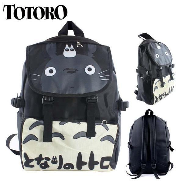 Totoro Nylon Waterproof Laptop Shoulder / Schoolbag Backpack - OtakuForest.com