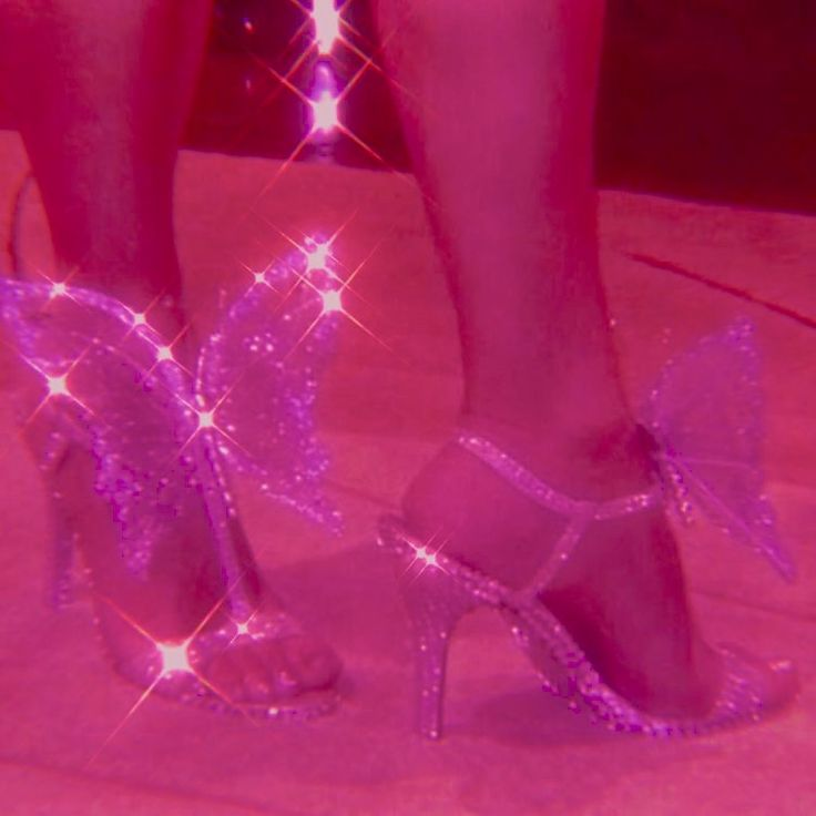 You can also upload and share your favorite pink aesthetic pc wallpapers. hot pink glitter butterfly heels aesthetic | Pink tumblr