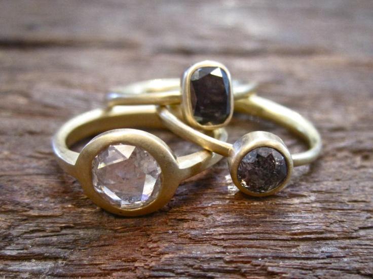 Lola Brooks (via Love Adorned): Lola Brooks, Diamond Rings, Style, Rings Addiction, Rose Cut Diamonds, Diamonds Rings, Rings Selection, Engagement Rings
