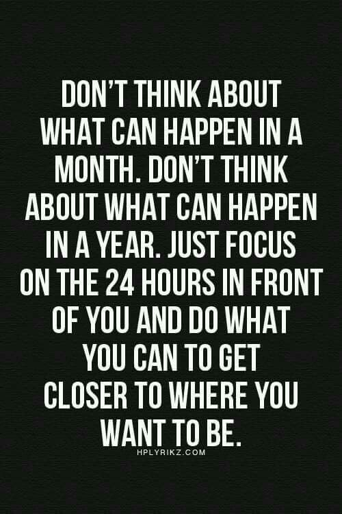In due time, it will all come full circle and the rewards will outweigh all your previous thoughts :)