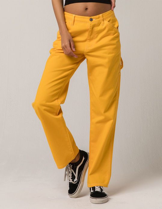 da8f817c Yellow Cargo Pants by Dickies Girl | Dickies Girl Clothing in 2019 ...