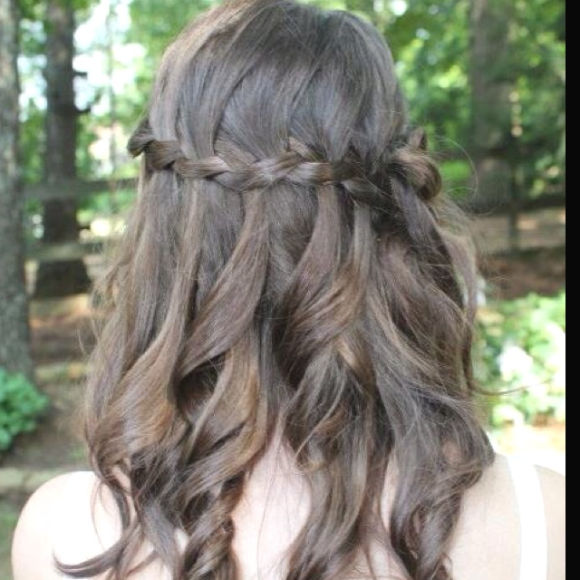 Graduation Hairstyles Girls: 1000+ Images About 8th Grade Promotion Hair On Pinterest