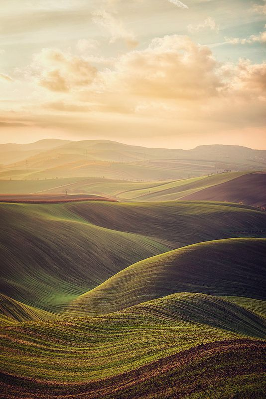south moravian region of the czech republic #nature #landscapes
