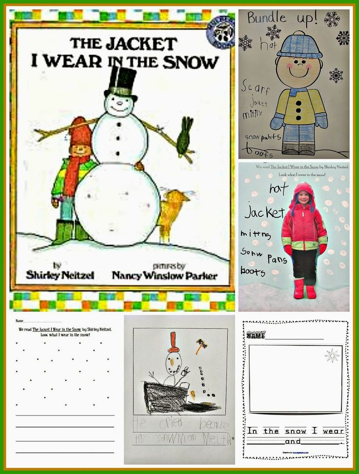 The Jacket I Wear in the Snow - Kindergarten: Holding Hands and Sticking Together
