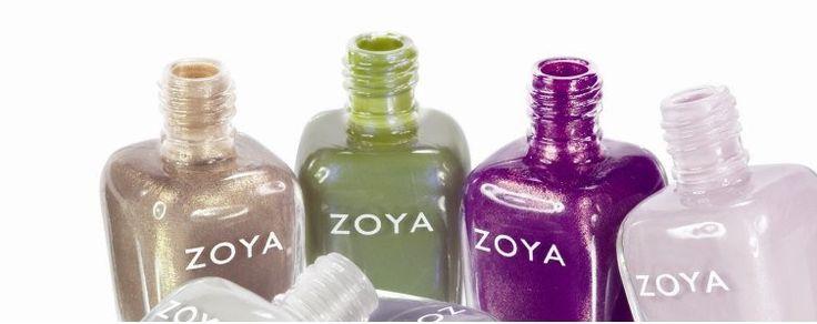 Per le vostre unghie vi consiglio ZOYA sopratutto queste tonalità per affrontare l'autunno!
