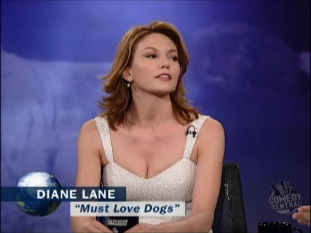 DIANE LANE 2005 |  The Daily Show with Jon Stewart. 2005. 26 JUIL