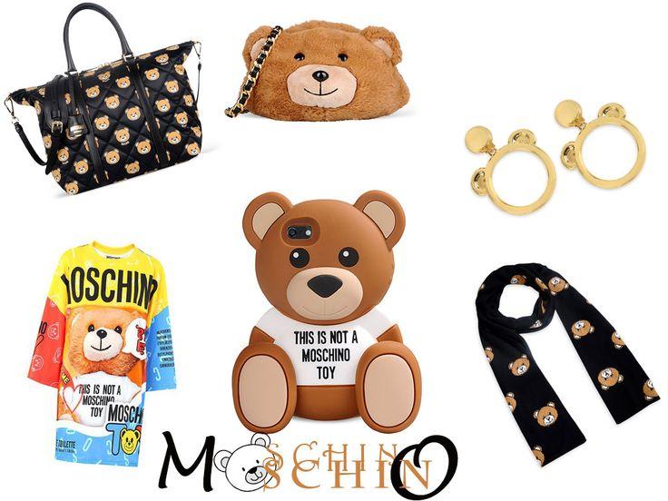 Moschino Bear 2015 Collection
