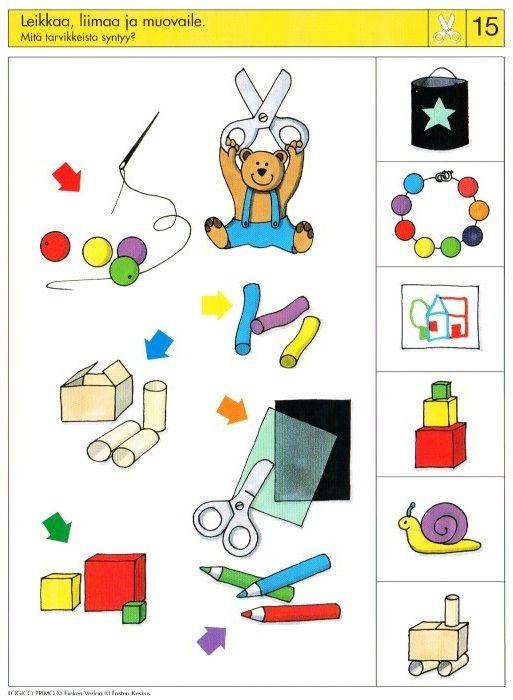Piccolo: schaar kaart 15