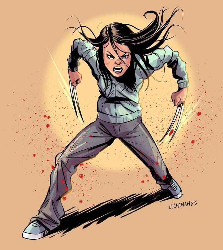 "johnnylighthands: ""X-23 / trailer was  #logan #x23 #xmen #wolverine #oldmanlogan #marvel #marvelcomics #illustration #drawing #mcu #mutant #weaponx #comics #comicart """