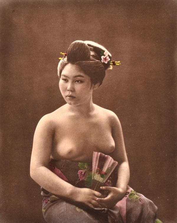 Japanese Female Nude, Circa 1880