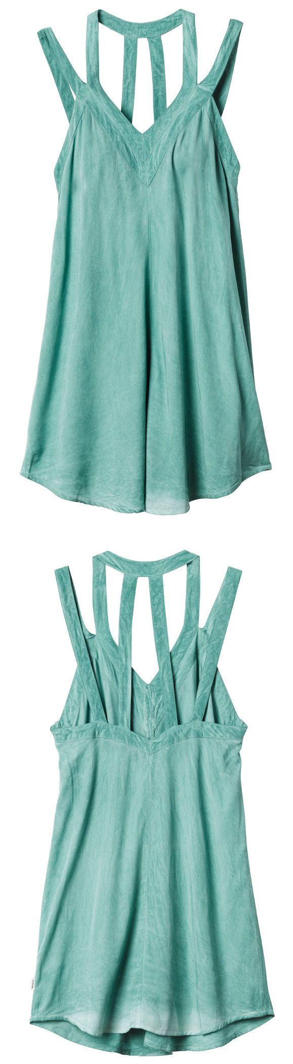 Mint Strappy Summer Dress