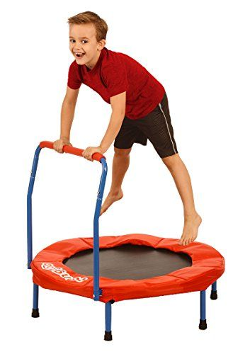 """Now in stock Kangaroo's 36"""" Kids Trampoline, Indoor Trampoline For Kids"""