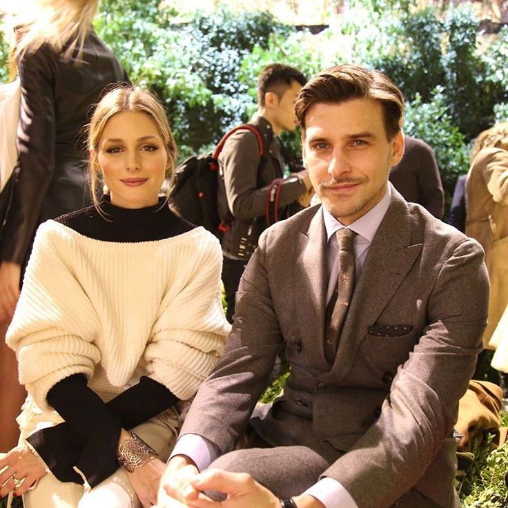 Olivia Palermo and Johannes Huebl attend the Christian Dior Haute Couture Spring Summer 2017 on January 23, 2017 in Paris #FROW #PFW