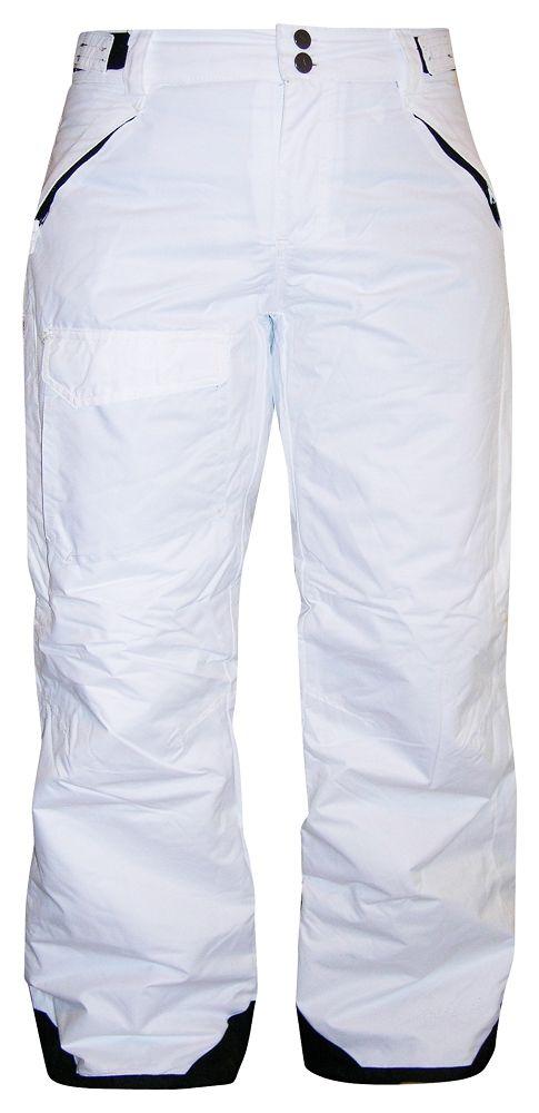 Pulse Womens Plus Size Ski Pants Insulated White 1X 2X 3X 4X 5X 6X