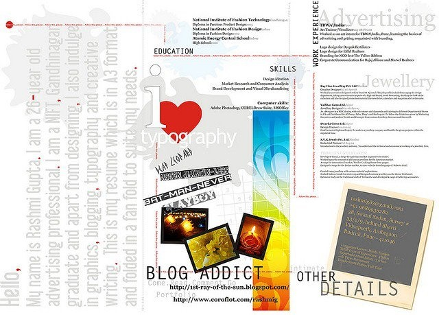 Top Tips & Tools for Creating an Infographic Resume  #tlchat #edtech