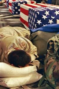 Each fallen soldier get's a personal escort home, sometimes it's a friend, a family member or stranger who is also in the services. THANK YOU,FOR GOING HOME WITH THEM - God Speed My Brothers!