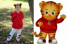 Make a no-sew Daniel Tiger costume for kids with these simple instructions from PBS Parents!